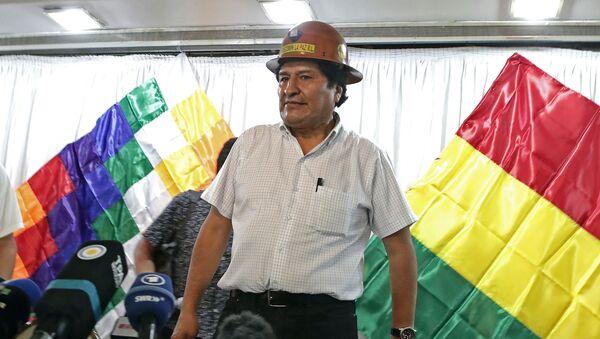 Expresidente de Bolivia, Evo Morales - Sputnik Mundo
