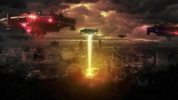 Ataque extraterrestre. Imagen referencial - Sputnik Mundo