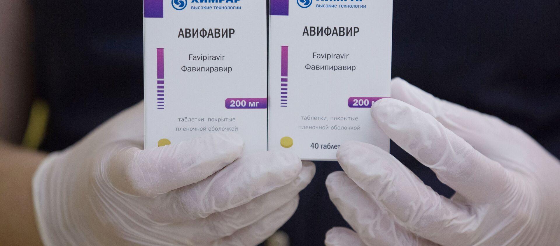 Avifavir, medicamento producido en Rusia para combatir el coronavirus - Sputnik Mundo, 1920, 01.02.2021