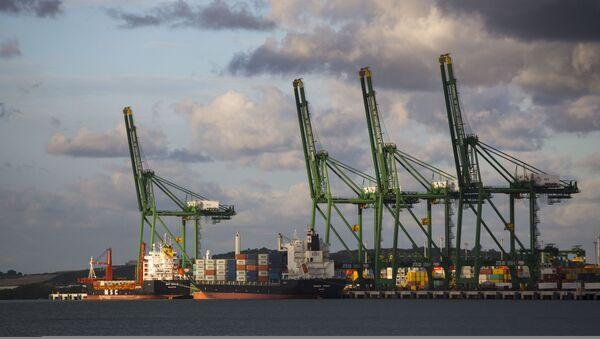 La Terminal de Contenedores del puerto de Mariel, Cuba - Sputnik Mundo