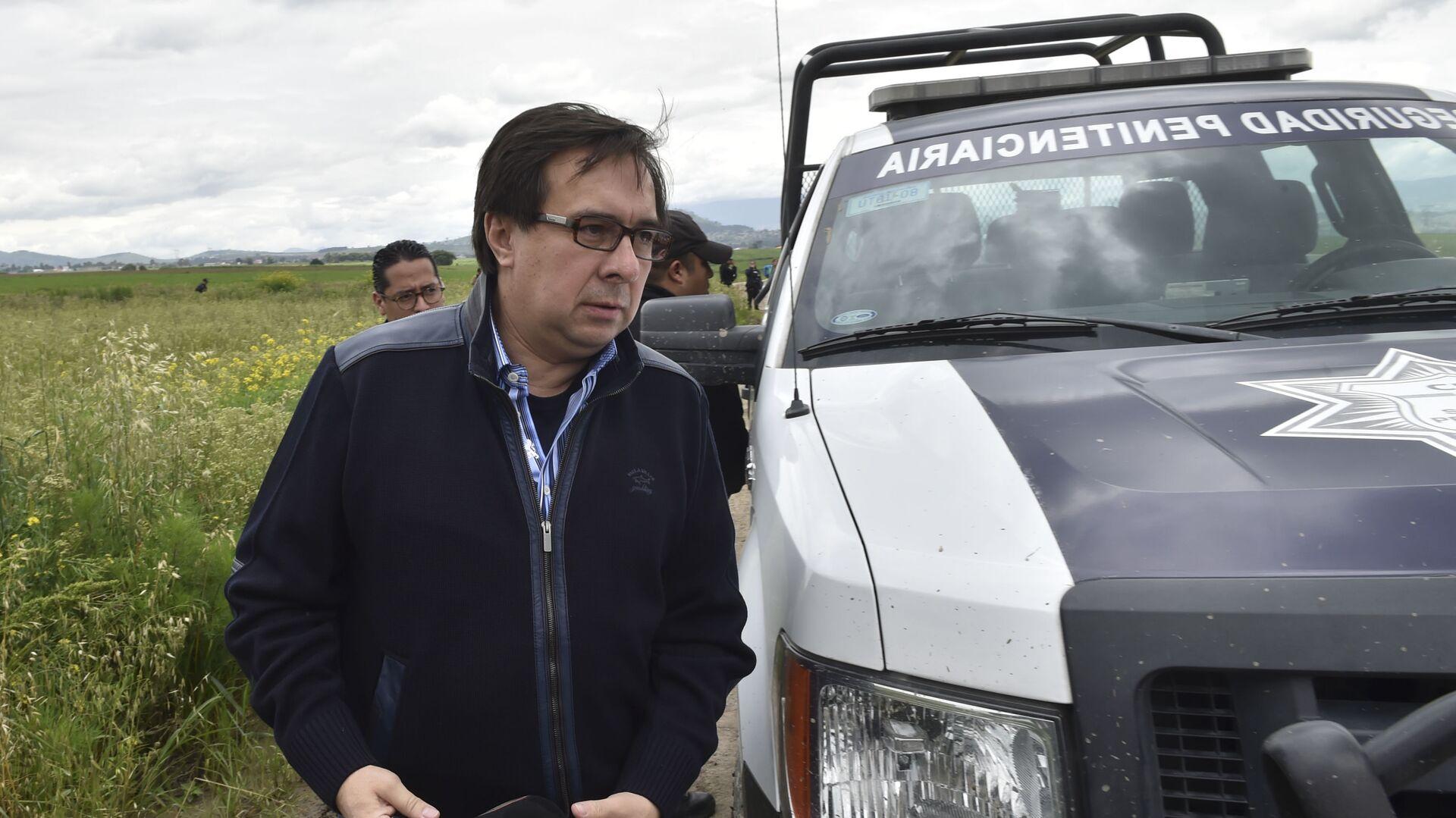 Tomás Zerón, extitular de la Agencia de Investigación Criminal (AIC) mexicana y principal responsable de la investigación del caso Ayotzinapa - Sputnik Mundo, 1920, 24.09.2021