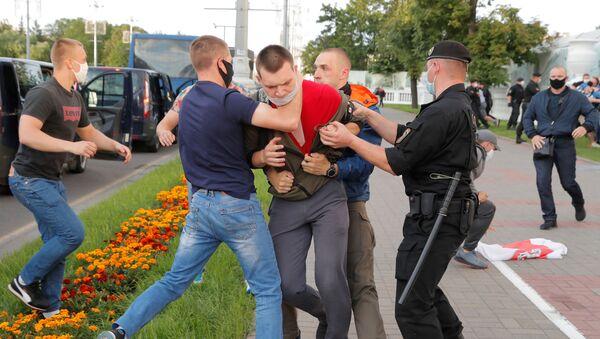 Protestas electorales en Bielorrusia - Sputnik Mundo