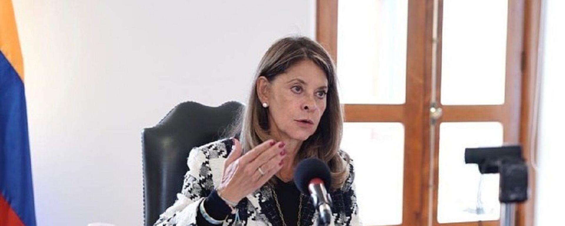 Marta Lucía Ramírez, vicepresidenta de Colombia - Sputnik Mundo, 1920, 05.10.2021