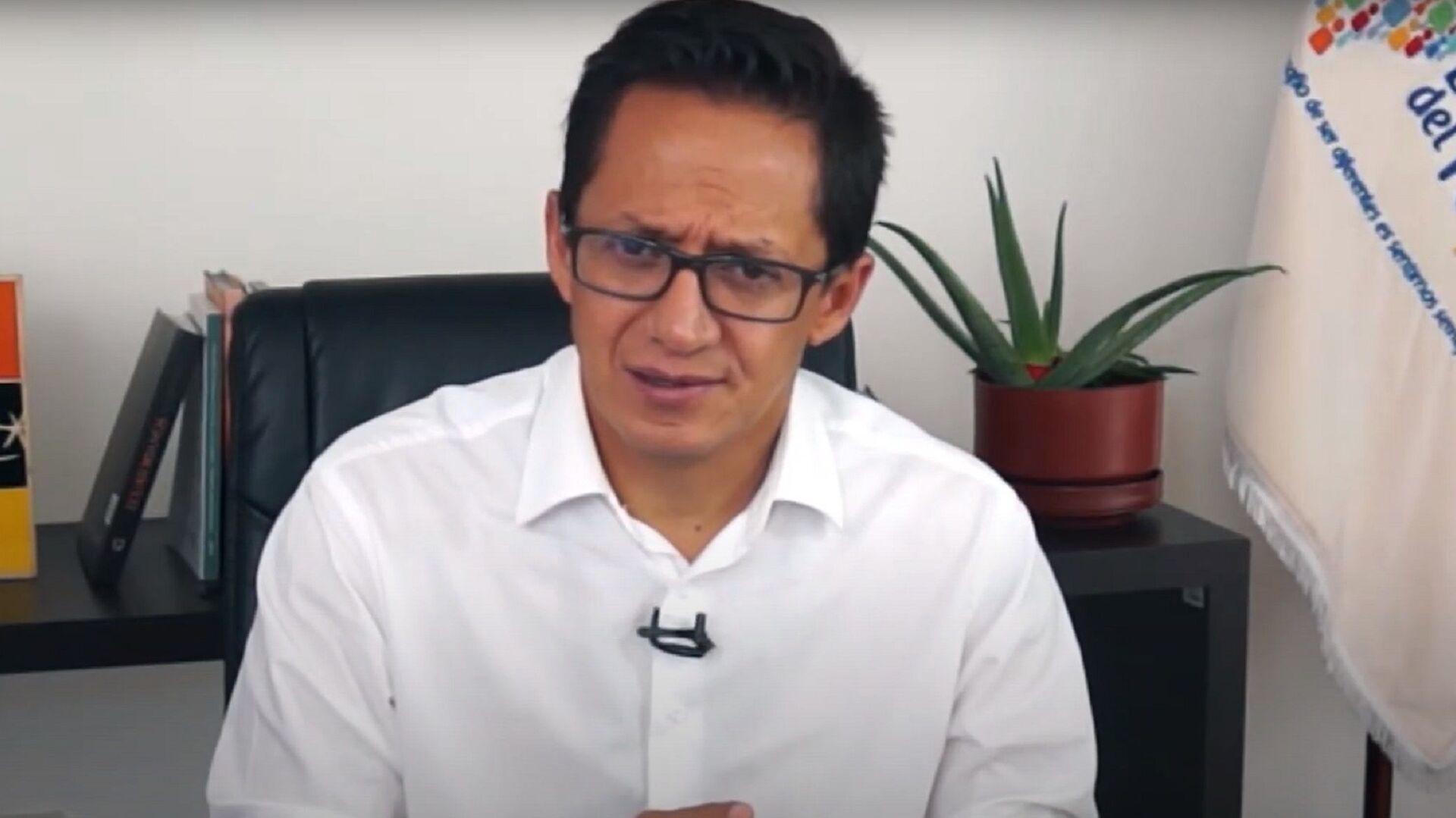 Freddy Carrión, defensor del Pueblo de Ecuador - Sputnik Mundo, 1920, 27.07.2021