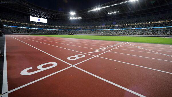 La pista para correr en el Estadio Olímpico de Tokio - Sputnik Mundo