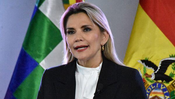Jeanine Áñez, la presidenta transitoria de Bolivia - Sputnik Mundo