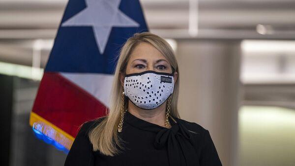 Wanda Vázquez, gobernadora de Puerto Rico - Sputnik Mundo