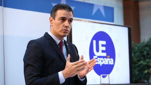Pedro Sánchez, acuerdo  sobre Fondo de Recuperación - Sputnik Mundo
