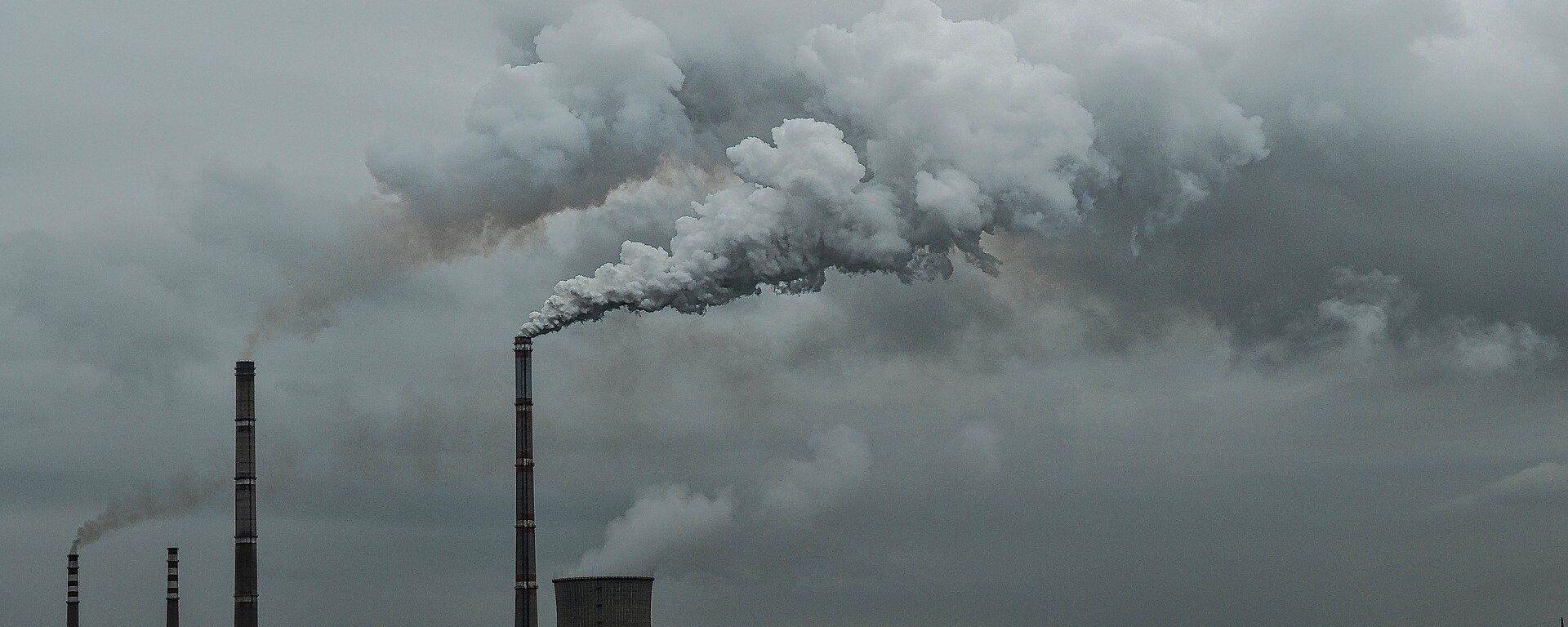 Las emisiones del dióxido de carbono  - Sputnik Mundo, 1920, 06.04.2021