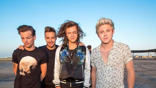 One Direction, grupo musical británico - Sputnik Mundo