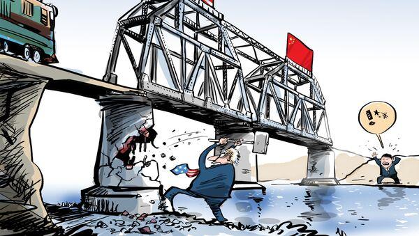 EEUU destruye los puentes que tanto costó construir con China - Sputnik Mundo