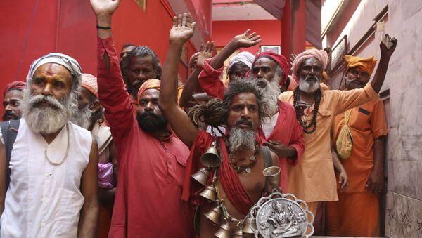 El Amarnath Yatra, la histórica peregrinación anual hindú - Sputnik Mundo