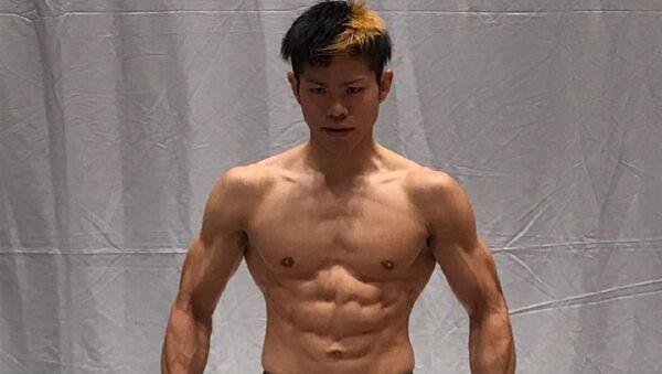 Hiroaki Suzuki, luchador japonés de artes marciales mixtas - Sputnik Mundo