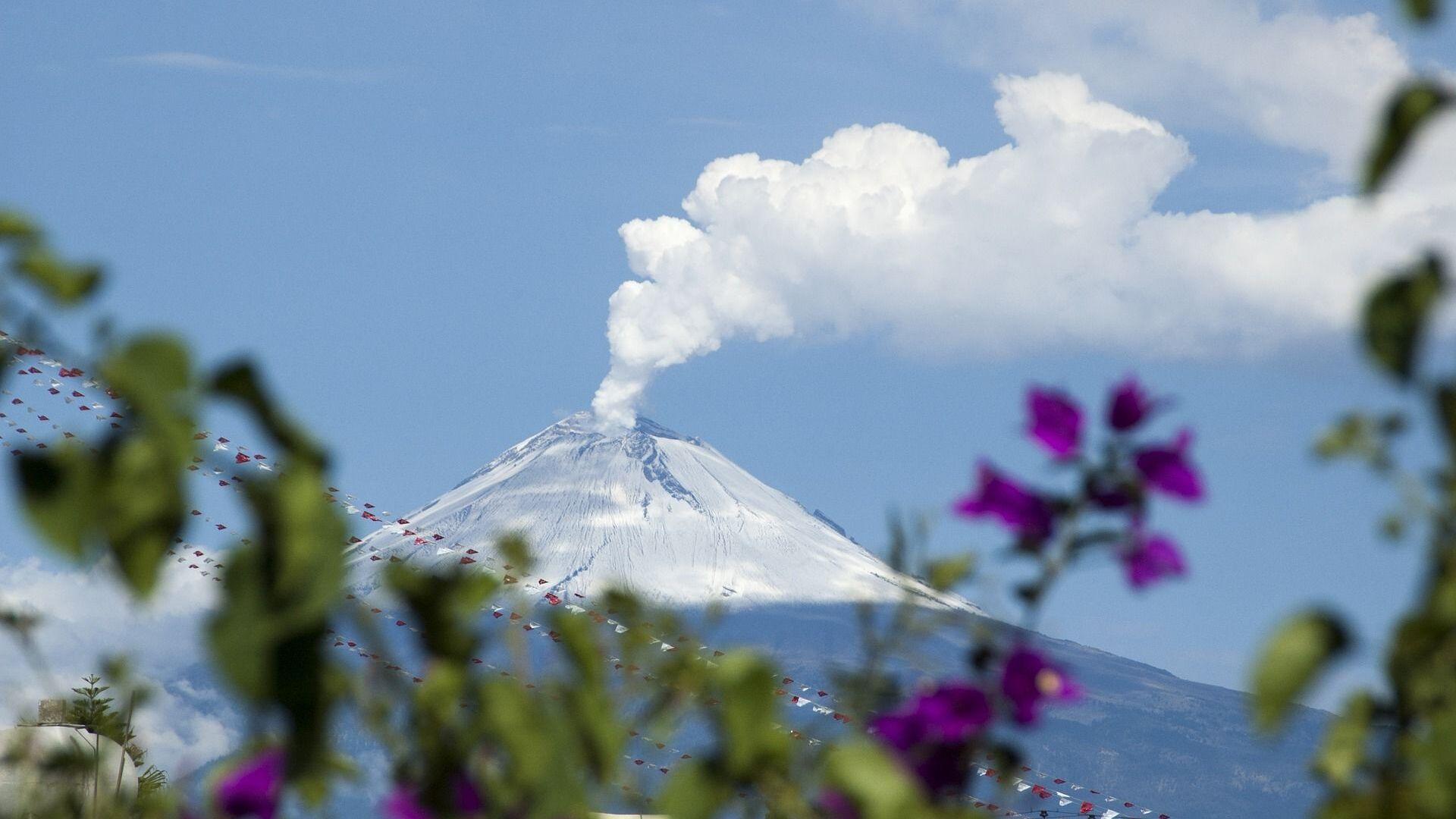 El volcán Popocatépetl, foto de archivo - Sputnik Mundo, 1920, 15.09.2021
