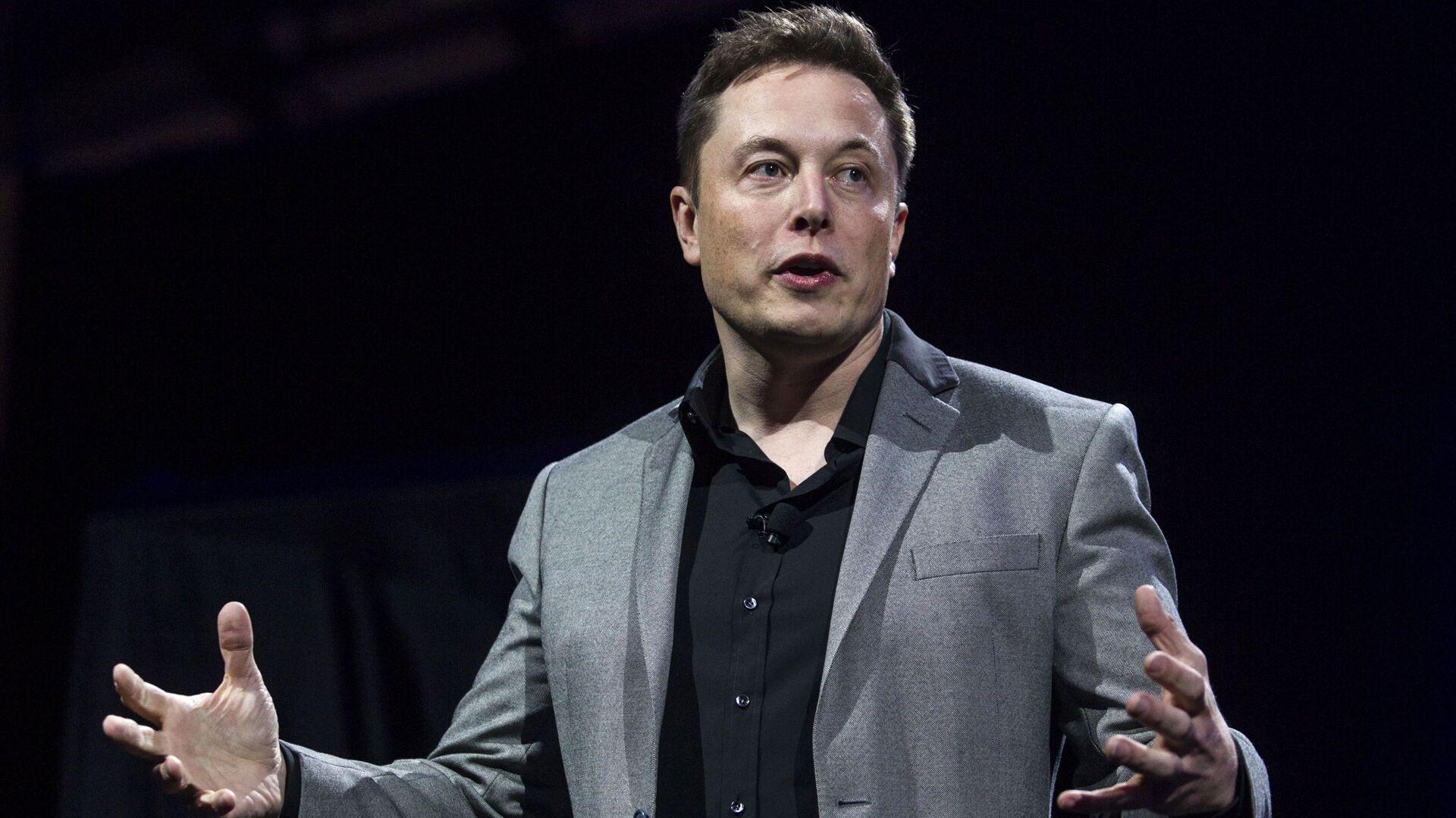 Elon Musk, director de Tesla - Sputnik Mundo, 1920, 04.02.2021