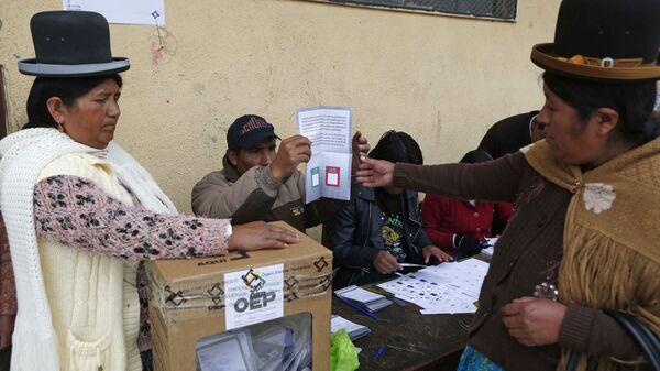Elecciones en Bolivia (archivo) - Sputnik Mundo