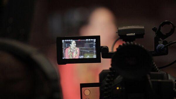 Telesur entrevista a Gabriela Rivadeneira, Asamblea Nacional de Ecuador, 2015 - Sputnik Mundo