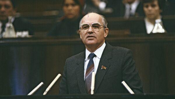 Mijaíl Gorbachov, el expresidente de la URSS - Sputnik Mundo