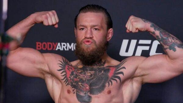 El luchador irlandés Conor McGregor  - Sputnik Mundo