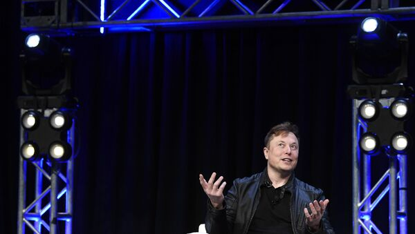 Elon Musk, jefe de SpaceX y Tesla - Sputnik Mundo