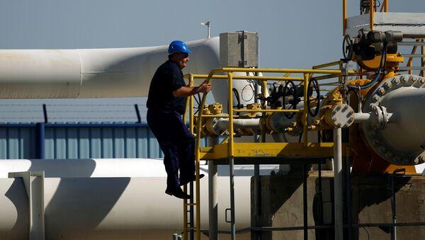 Un gasoducto en Bulgaria que va a Grecia - Sputnik Mundo