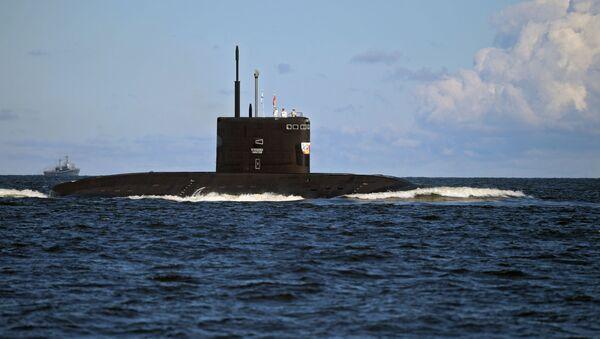 Un submarino ruso (imagen referencial) - Sputnik Mundo