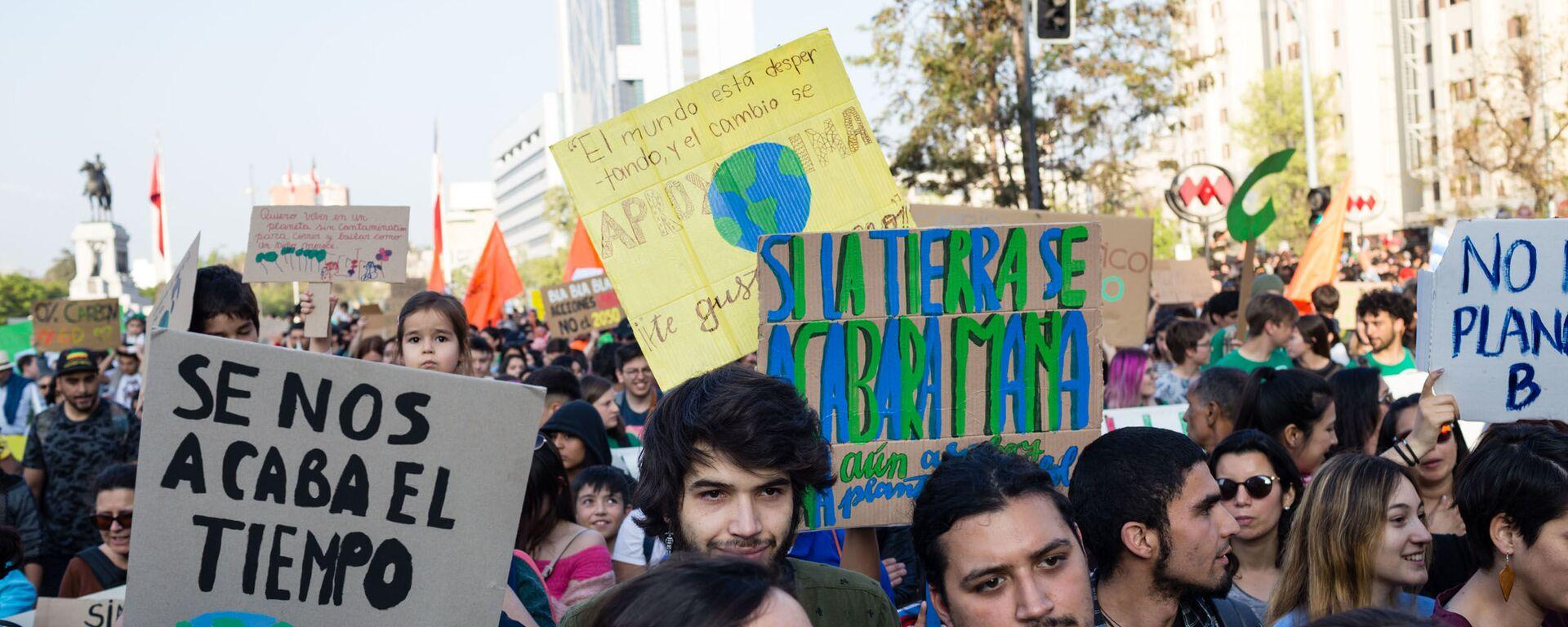 Marcha por el medioambiente - Sputnik Mundo, 1920, 25.09.2020