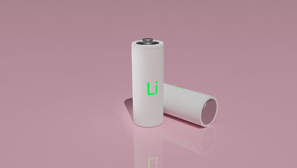 Baterías de litio (imagen referencial) - Sputnik Mundo