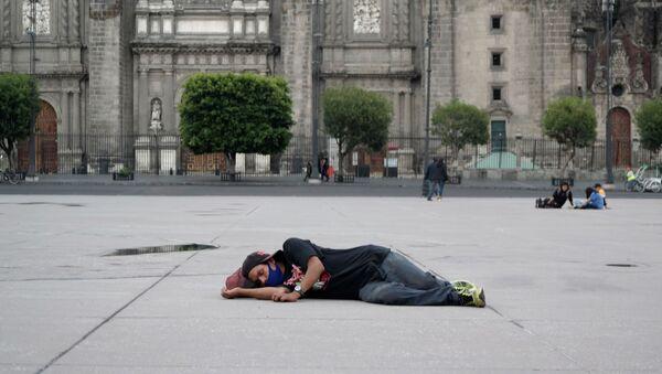 El Zócalo de la Ciudad de México - Sputnik Mundo