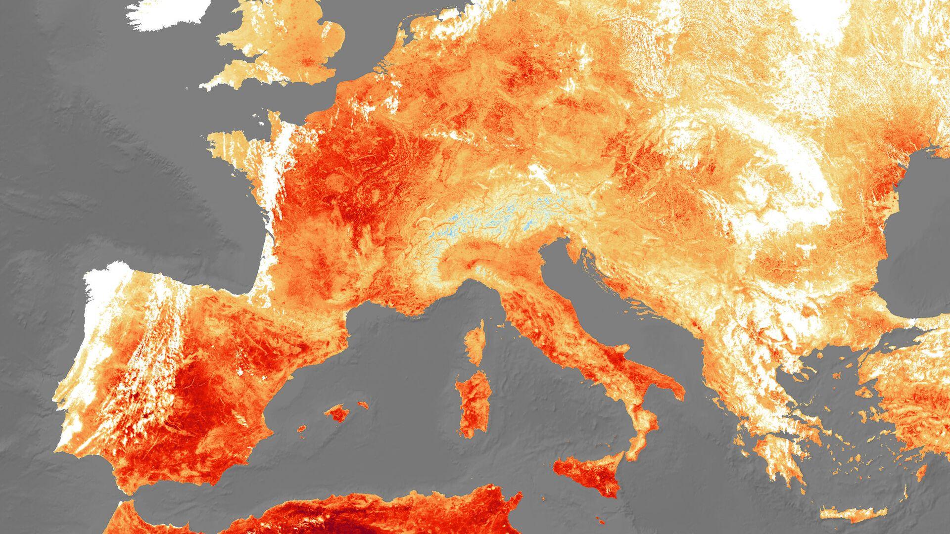 Una imagen referencial de Europa durante una ola de calor (archivo) - Sputnik Mundo, 1920, 10.08.2021