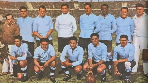 El equipo de fútbol de Uruguay, 1930 - Sputnik Mundo