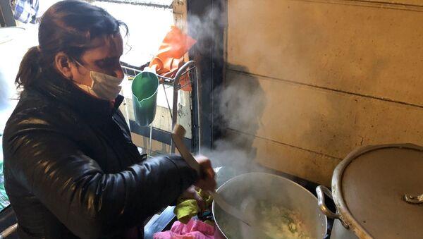 El comedor comunitario Pancita llena, corazón contento da de comer a 250 familias en el barrio de La Boca - Sputnik Mundo