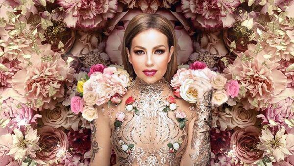 Thalía, cantante y actriz mexicana - Sputnik Mundo