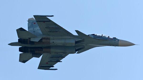 Un caza ruso Su-30SM  - Sputnik Mundo