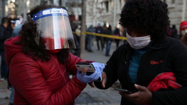 El coronavirus en Chile - Sputnik Mundo