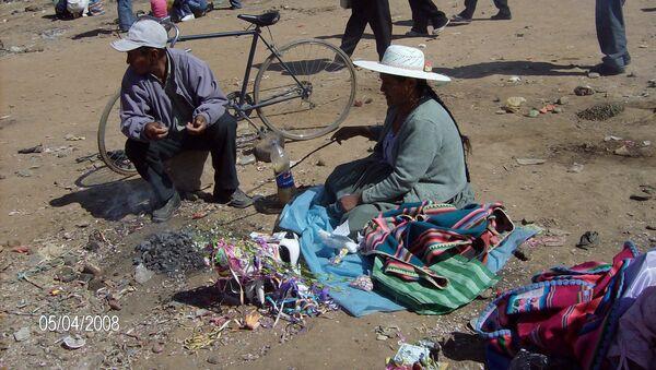 Ritual quechua del Mes de la Pachamama - Sputnik Mundo