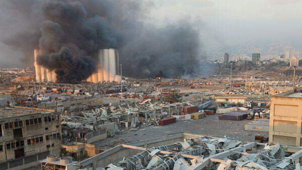 Explosión en Beirut  - Sputnik Mundo