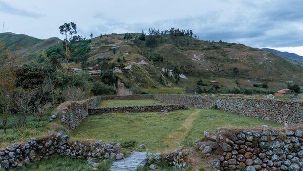 Vestigios de la fortaleza del cacique Cañari Duma, que se enfrentó al Ejército Inca a mediados del siglo XV - Sputnik Mundo