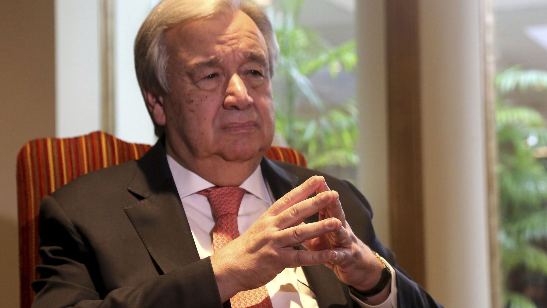António Guterres, secretario general de la ONU - Sputnik Mundo, 1920, 01.02.2021