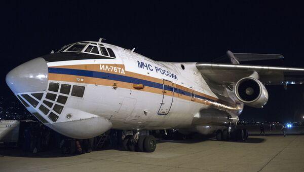 Avión con ayuda humanitaria de Rusia llega al Líbano - Sputnik Mundo