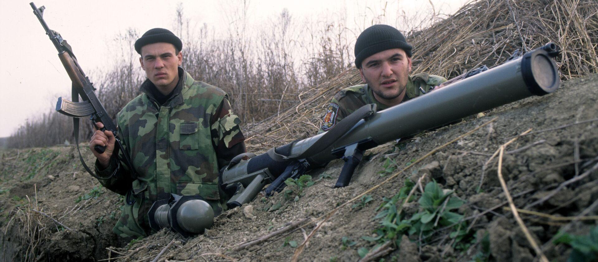 Soldados serbios durante la 'Operación Tempestad' - Sputnik Mundo, 1920, 07.08.2020