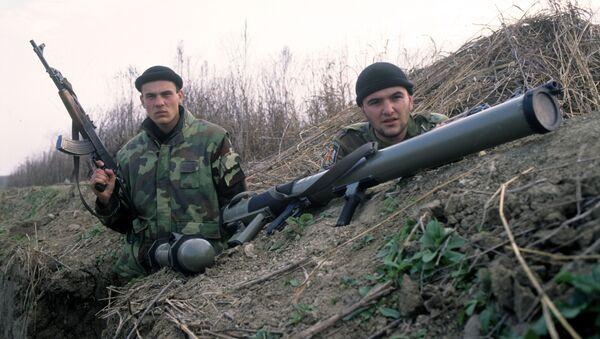 Soldados serbios durante la 'Operación Tempestad' - Sputnik Mundo
