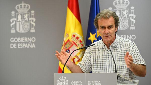 Fernando Simón, director del Centro de Coordinación de Alertas y Emergencias Sanitarias del Ministerio de Sanidad de España - Sputnik Mundo