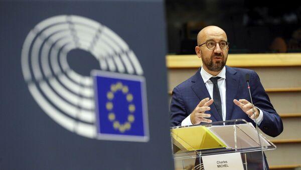 Charles Michel, presidente del Consejo Europeo - Sputnik Mundo