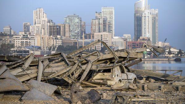 Consecuencias de la explosión en el Líbano - Sputnik Mundo