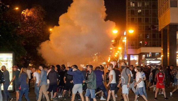 Protestas en Minsk - Sputnik Mundo