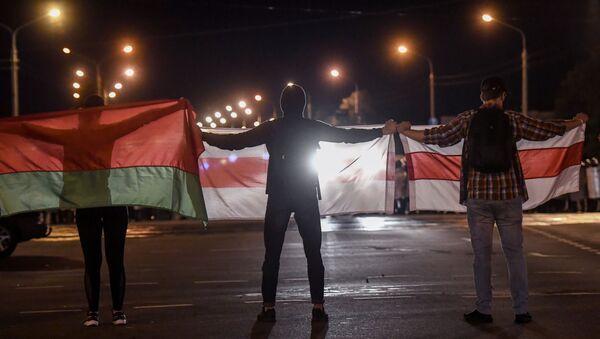 Protestas postelectorales en Bielorrusia - Sputnik Mundo