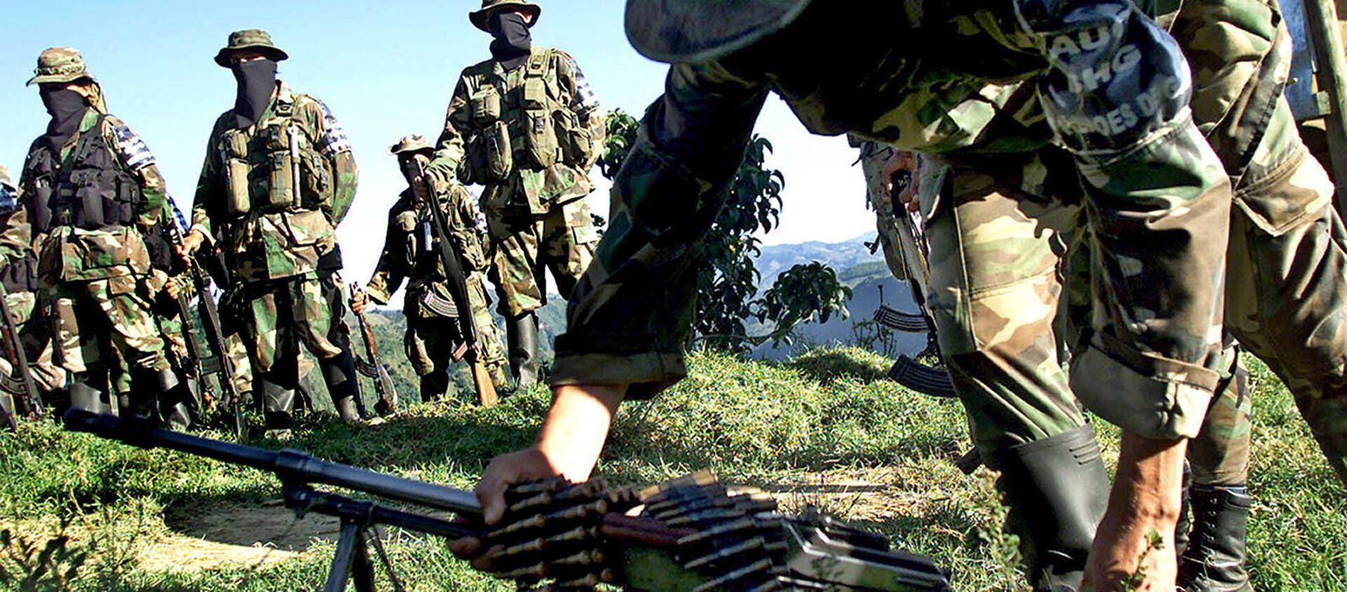 Paramilitares de las Autodefensas Unidas de Colombia  - Sputnik Mundo, 1920, 01.09.2020