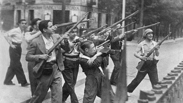 Guerra Civil en España (archivo) - Sputnik Mundo