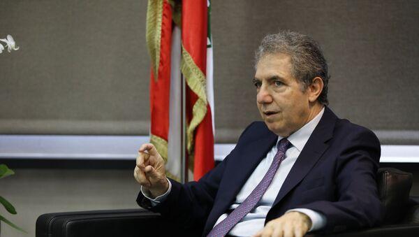 Ghazi Wazni, el ministro de Finanzas libanés - Sputnik Mundo